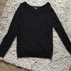 Covington black knit sweater